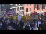 Les rues de Washington inondées de monde à lappel unifié pour le mot dordre #free_Palestine & la fin de lapartheid israélien