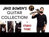 Jake Bowen's Guitar Collection + Studio Tour! (Periphery) Ibanez Guitars DjentProgressive Metal
