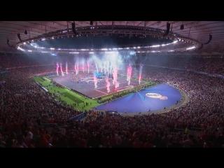 Dua Lipa на открытии финала Лиги Чемпионов УЕФА 2018