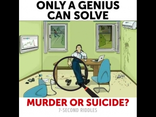 Murder or suicide?😨