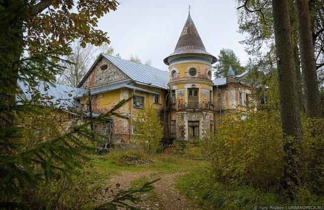 5 Заброшенных мест в России
