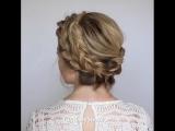 Как быстро и легко собрать волосы