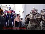 Çizgi film Transformers Gerçek Hayattan Görüntüler - Eğlenceli Çocuk Videosu