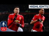 Man Utd 2 - 0 Derby Official Highlights Incredible Strike from Lingard Emirates FA Cup 201718