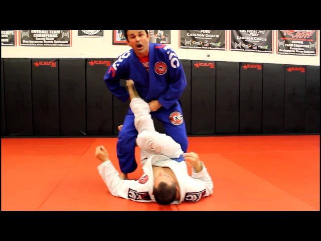 Jiu Jitsu Techniques - Ankle Lock From Open Guard Pass