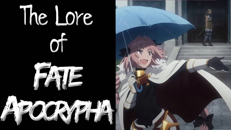 The Lore of FateApocrypha - Part 3 - The Great War