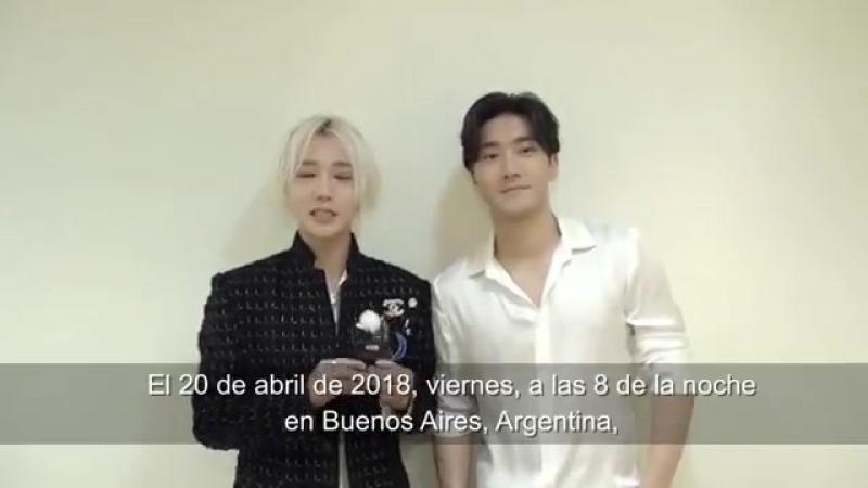 Шивон и Йесон объявляют о SS7 в Аргентине