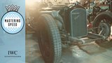 This 12-litre Amilcar's V8 engine once battled the Red Baron