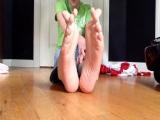 Sweaty Teenage Boy Feet Verbal Domination