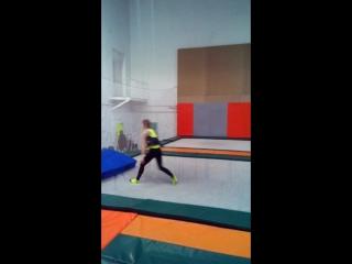 #учимсвязку #сальтоназад #handtohand #trampoline #tambling #https://www.facebook.com/andrey.khrapov.58 #backflip #