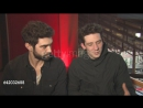 Josh OConnor, Alec Secareanu on the sex scenes at Berlinale Palast on February 15, 2017 in Berlin, Germany.