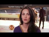 Megan Fox Talks To ET About Her Kissing Amanda Seyfried &amp Behind The Scenes Of