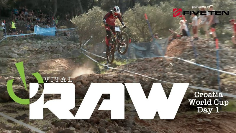 BIKE ABUSE! Vital RAW Losinj, Croatia World Cup DH Day 1