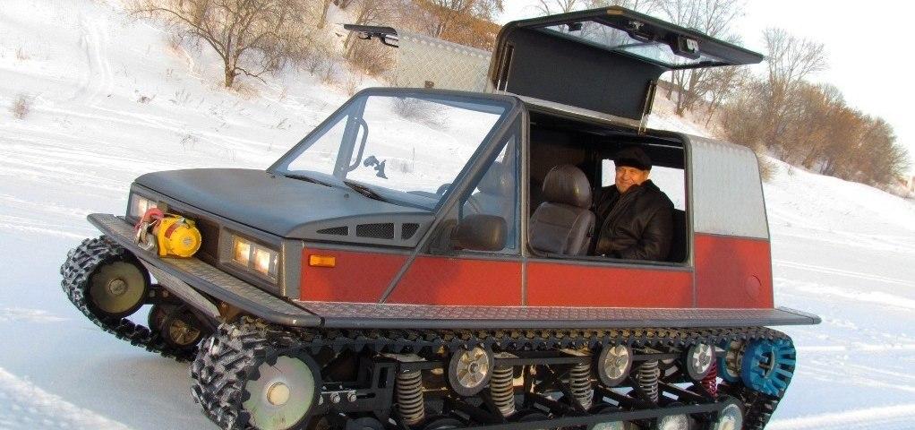 Самоделки вездеходы снегоходы болотоходы своими руками 64