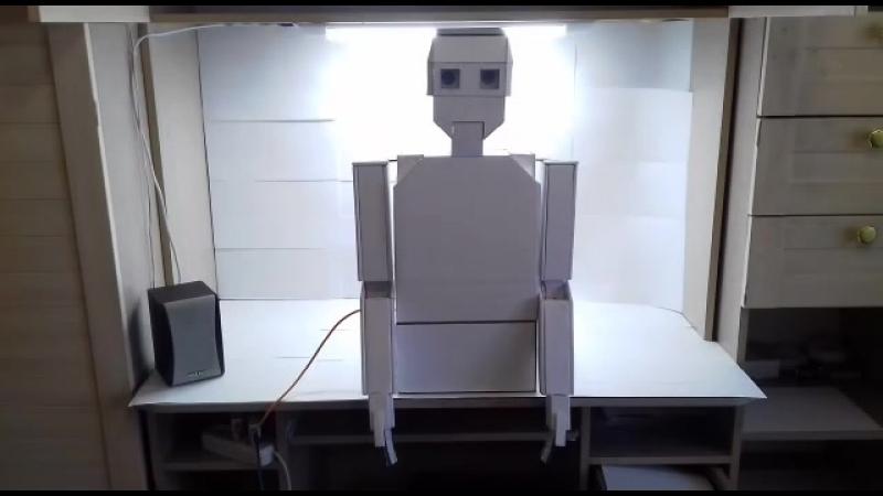 Восьмиклассник из Белогорска создал говорящего робота Костю