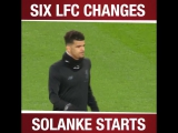 Reds get ready as @DomSolanke prepares for his first #PL start ?