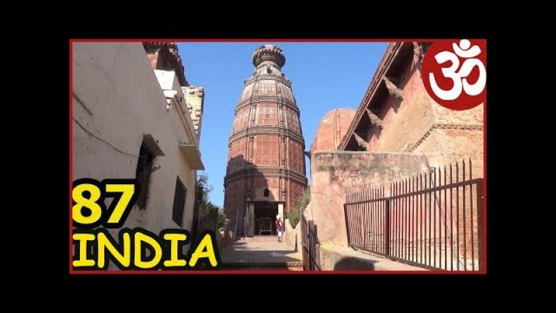 Что такое КАРМА? Фильм про Врииндаван. Еда в храме. Песни. INDIA 87