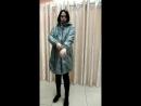 Куртка демисезонная 2в1 Бонжур для беременных серый меланж