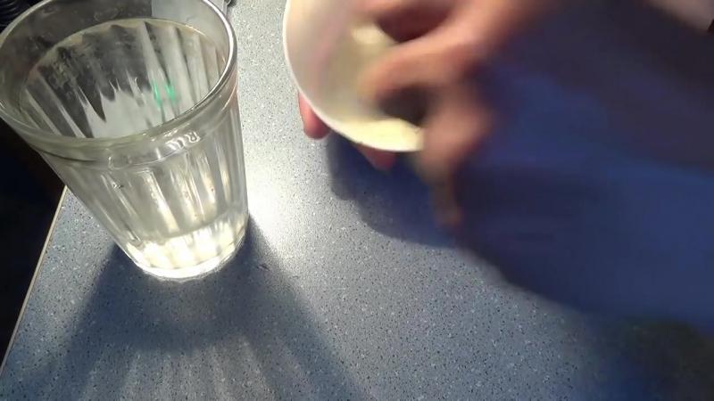 Манка в шприце - как сделать