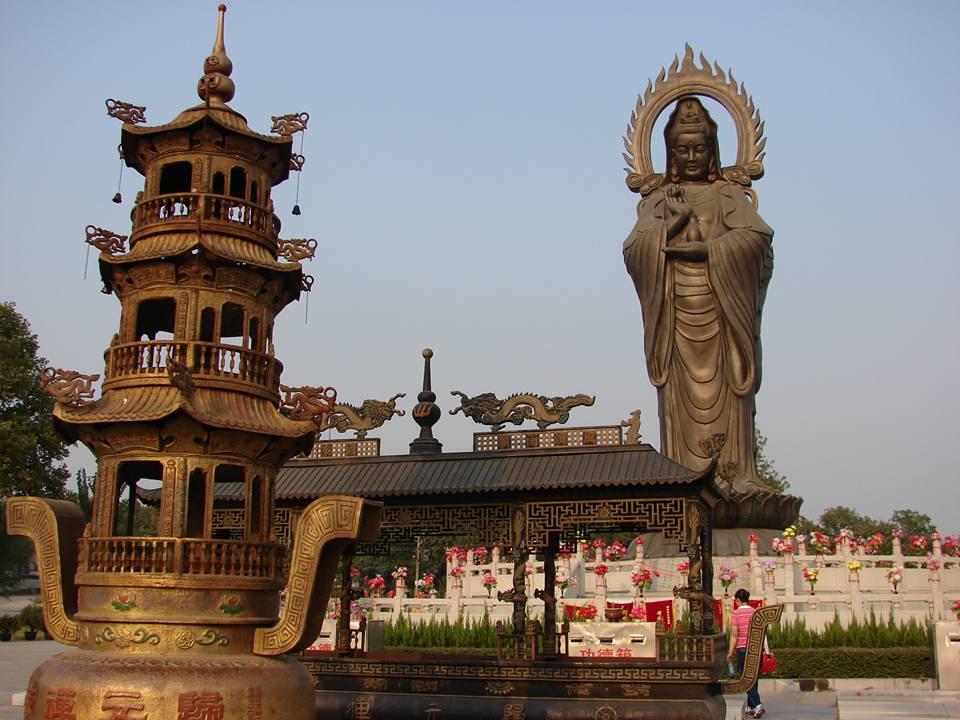Китайский монастырский комплекс