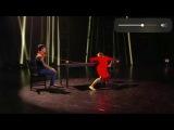 Оля Батурина и Тимур Базаров-Танцы 4 сезон