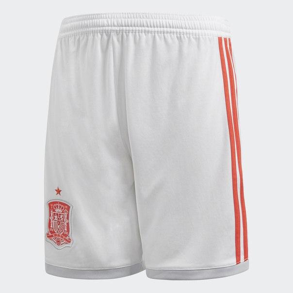 Гостевые игровые шорты сборной Испании