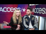 Sabrina Carpenter  Jonas Blue Tease Alien Music Video  Jimmy Kimmel Perfor