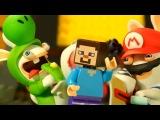 МАРИО ? Бешеные Кролики и Лего НУБик Майнкрафт - LEGO Minecraft Animation - Мультфильмы