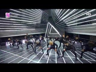 《POWERFUL》 NCT 2018(엔씨티 2018) - Black On Black @인기가요 Inkigayo 20180422