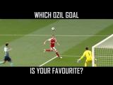 ТОП 5 лучших голов Озила за Арсенал !