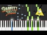 Gravity Falls - Opening ThemeWeirdmageddon Piano Tutorial
