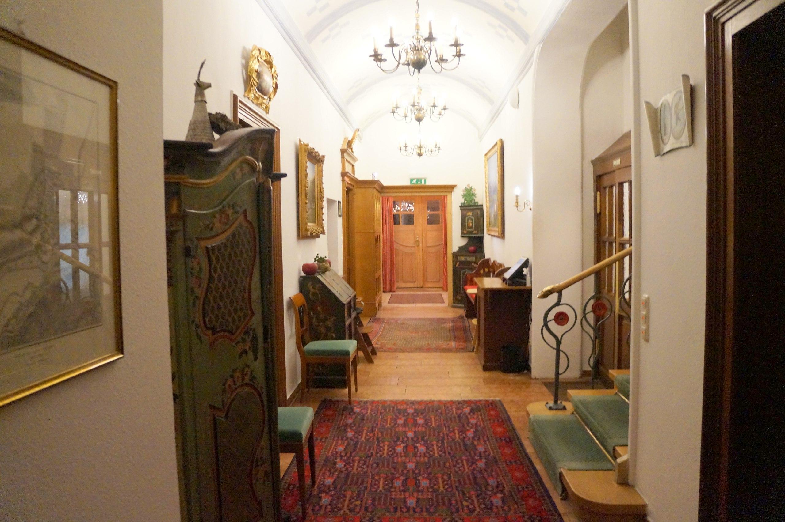 Самый атмосферный отель в Баварии