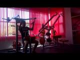Тренировка спины и плеч