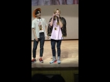 FANCAM 17.06.18 Jun, Wow @ 4th fansign Incheon Media Center