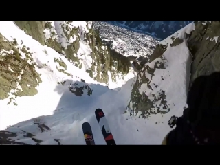 The French Alps seen through the eyes of a speedrider.