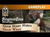 Разведку и подготовку к сражению показали в новом геймплее Kingdom Come: Deliverance