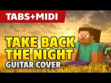 Minecraft – Take Back The Night (Easy Guitar Tutorial with Tabs)