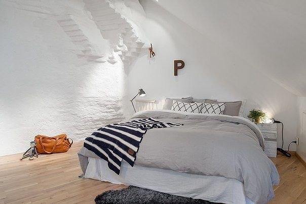 Мансардные комнаты с уютным балконом