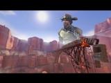 J. McCree - High Enough ft. Angela Ziegler [Overwatch SFM]_HD