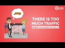 Learn English Conversation: Lesson 23. There is too much traffic