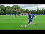 Soccer Trick Shots ft. Chelsea F.C.  Dude Perfect