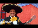 Мексиканский Ранчера традиционная инструментальная музыка с мариачи труба и ги...