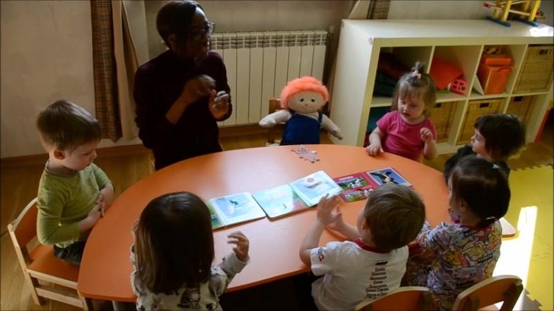 Занятие группы Babies с Кенни
