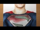 Speed Drawing  Superman - Man Of Steel- DC - Justice league  - Timelapse ¦ Artology