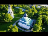 Александров.Вид сверху.Золотое Кольцо России.