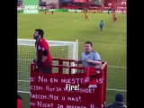 Dont mess with these Chicago Fire ultras...