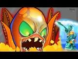 ОГРОМНЫЙ ОСЬМИНОГ нападает на АМЕРИКУ! Веселое видео для детей в необычной игре про Осьминога