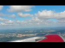 Rossiya Airbus A319 Takeoff from Moscow