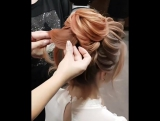 Мастер-класс по созданию нежной вечерней причёски