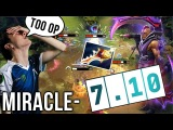 Miracle- EPIC Comeback 7.10 New Anti-Mage 3.5s Blink 10 Items - Dota 2